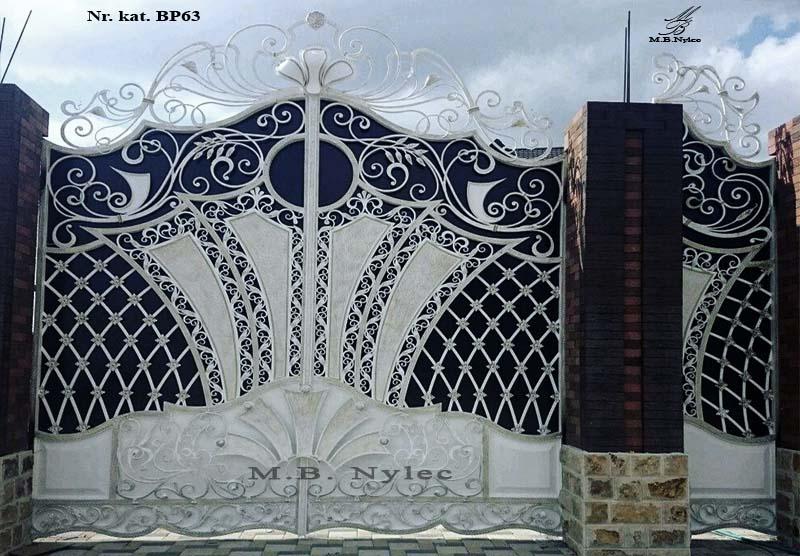 Brama pełna do rezydencji bp63