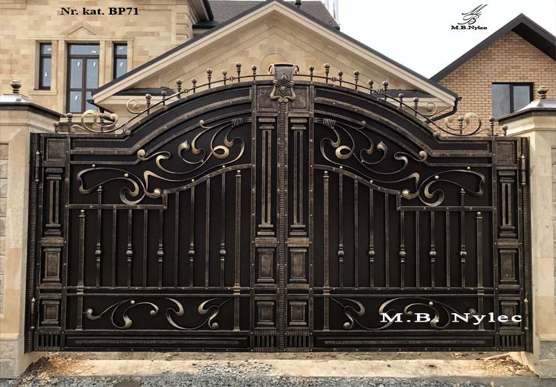 ekskluzywna brama w stylu greckim bp71